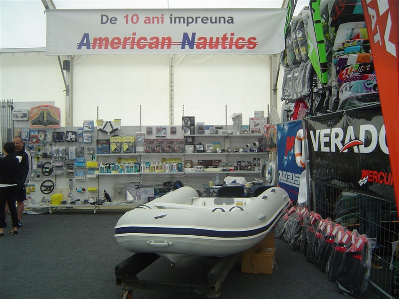 American Nautics interior